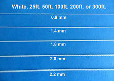 0.9mm 1.4mm 1.8mm 2.0mm 2.2mm White Blinds Shade Lift Pull Cord String 25 - 300'