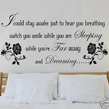 Aerosmith lyric wall Sticker Decal Transfer new design
