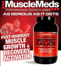 MuscleMeds SECRET SAUCE Post-Workout Muscle Growth BCAA Creatine 3.11 lb SEALED