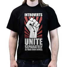 Introverts Unite Gaming Geek Nerd Gamer COD Advance Warfare T-shirt P821
