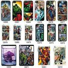 DC Marvel superhero comic book cover case for Apple iPhone iPod & iPad No. 21