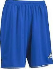 ADIDAS PARMA II  FOOTBALL SHORTS COBALT BLUE  ADULT SIZE SMALL TO XL BNWT