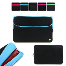 """13"""" Washable Neoprene Protective Carrying Sleeve Case fits Toshiba Laptop PC"""