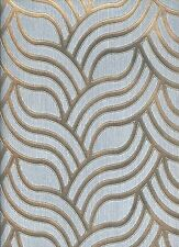 York Wallcoverings Enchantment ET2013 Textured Silver & Gold Wallpaper