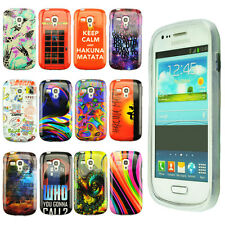 Newly Pattern Case TPU Gel Case Cover Skin for Samsung Galaxy S Duos 2 S7582
