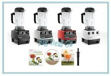 Vitamix 6300 Hot & Cold Blender with Recipe Book/DVD/Tamper & 7yr Warranty (New)
