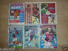 Burnley Home Programmes 1994/5 to 1999/00 -  Select from list