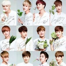 EXO Official Limited Photo Card EXO-K EXO-M NATURE REPUBLIC NEW KPOP