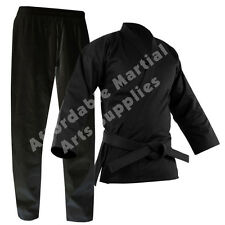 Black Karate Suit / Karate Gi / Karate Uniform, FREE White Belt FREE UK P&P
