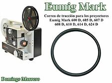 Drive Belt Super 8 Film Projector for Eumig Mark 600D 605D 607D 608D 610D 614D