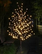 LED LIGHTED 5.5' WILLOW TREE / 5.5' CHERRY BLOSSOM TREE OR 4' FLOWER TREE