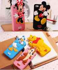 NEW SAMSUNG GALAXY S4 Mini DISNEY MINNIE MOUSE MICKEY CARTOON SOFT 3D CASE COVER