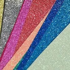 Fine Glitter Fabric Mini Roll - High Quality- Choose your colour