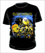 Iron maiden t-shirt 100% cotton
