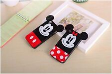 For Apple iPhone 6 5s 5 4s 4 Mickey Minnie Mouse TPU Gel Soft Phone Case Cover