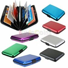 Mini Pocket Waterproof Business ID Credit Card Wallet Holder Aluminum Case DHUS