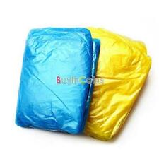 2/4/6PCS Disposable Emergency Poncho Raincoat For Outdoor Sports Camping Hiking
