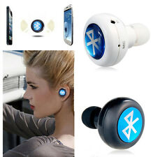 Bluetooth Earphones Stereo Mono MiNi In-Ear Headphones Wireless With Microphone