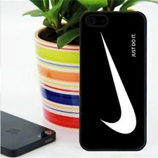 Nike Logo white and black Bumper case cover for iphone 4 4S /  5 5S