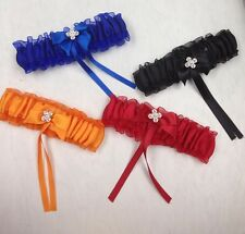 Rhinestone Garter. Choose Your Color