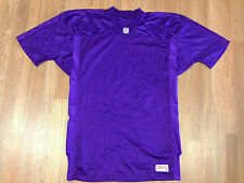 Vintage DS Ravens Vikings NFL Authentic Blank Football Jersey Purple Ripon