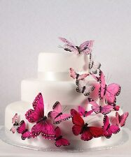 Butterfly Butterflies Set Wedding Cake Topper Cupcake Decorations