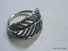 NEW! AUTHENTIC PANDORA RING LIGHT AS A FEATHER #190886CZ