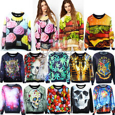 Womens Mens Space Galaxy Hoodie 3D T Shirt Sweater Sweatshirt Pullover Tracksuit