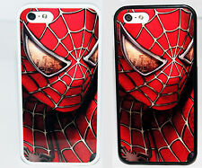 NEW AMAZING SPIDERMAN 3 CASE IN WHITE OR BLACK FOR iPHONE 4 4S 5 5C  COVER SKIN