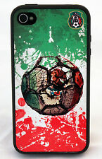MEXICO WORLD CUP 2014 SOCCER CASE FOR IPHONE 6 4 4S 5S 5C RUBBER SILICONE COVER