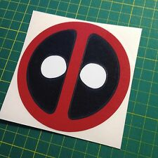 Colored Deadpool Vinyl Decal Sticker Comic