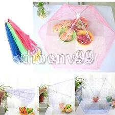 Barbecue Party Ball Picnic Fruit Fly Mosquito Food Fold Umbrellas Cover Net Tent