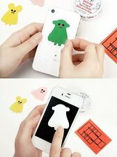 Mobile Cell Phone Screen Microfiber Cleaner cleaners Sticker cute character