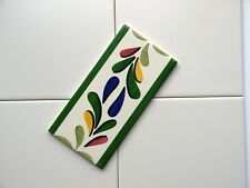 Ceramic Wall Kitchen and Bathroom Tiles - Hand-Painted