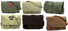 Rothco Vintage Canvas Military Paratrooper Shoulder Messenger Bag 9558