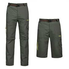 Detachable Design Men Camping / Hiking Trousers Quick Dry Full Pant Size L-5XL