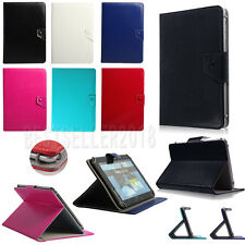 PU Leather Folio Case Cover Asus Transformer Pad TF701T / Infinity TF700T 10.1""