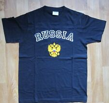 Embroidered t-shirt Russia Double Eagle Россия S, M, L, XL, 2XL black