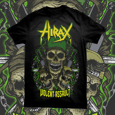 HIRAX - Violent Assault T-SHIRT thrash metal USA