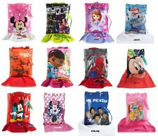 Personalised Towel and Kids Character Swim Bag with Goggles Boys & Girls