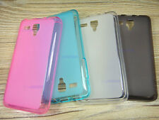 Soft TPU Silicone Gel Clear Skin Case Cover for 4'' Lenovo A396