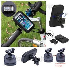 Waterproof Rotating Bicycle Bike Mount Handle Bar Holder Pouch Bag Case For Sony