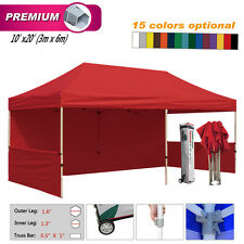 Eurmax canopy 10X20 Premium Pop Up Canopy Tent Trade Show Booth Select Color