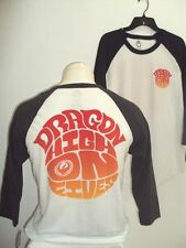NEW DRAGON ALLIANCE HIGH ON FIVES TEE T SHIRT LARGE FIT MED charcoal or navy #18