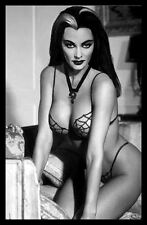 Lilly Munster FRIDGE MAGNET Classic Sexy Photo CANVAS Poster Magnet Print