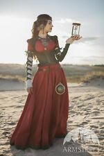 "Medieval Costume , Dress with Corset and Chemise ""The Alchemist's daughter"""
