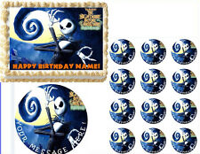 Nightmare Before Christmas Jack Edible Cake Topper Frosting Sheet - All Sizes!