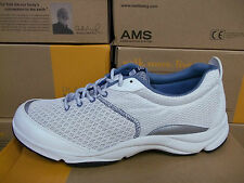 Ladies Dr. Andrew Weil by Orthaheel RHYTHM White/Blue Sneaker - FLR SAMP!(11B2)