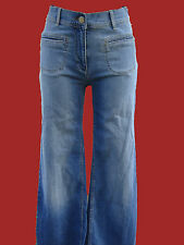 "LOVELY BRAND NEW MOTO TOPSHOP HIGH WAIST WIDE LEG ""K"" JEANS"