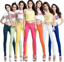 2014 New Women Colorful Jeggings Stretchy Sexy Pants Soft Leggings Pencil Tights